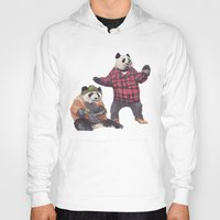 big poppa Hoodies featuring big poppa panda by K.Fields
