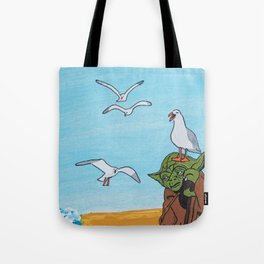 Seagulls! Stop It Now! Tote Bag