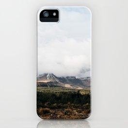 Travel Photography | Scotland Isle of Skye | Mountains iPhone Case