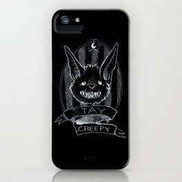 Stay Creepy iPhone Case