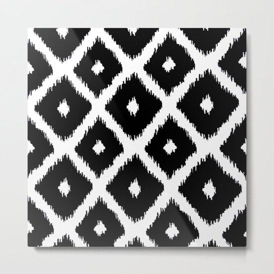 Black and White decor Metal Print