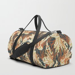 jellyfish slate Duffle Bag