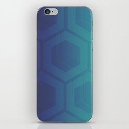 blue steel iPhone Skin