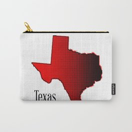 Texas Halftone Carry-All Pouch