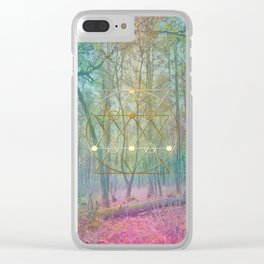 Magic of the Woods Clear iPhone Case