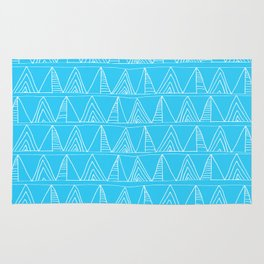 Triangles- Simple Triangle Pattern for hot summer days - Mix & Match Rug