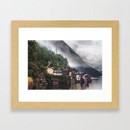 Dreamy Austrian village: Hallstatt Framed Art Print