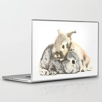 furry Laptop & iPad Skins featuring FURRY LOVE by Yuuri Cheryl