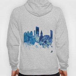 Aarhus Denmark Skyline Blue Hoody