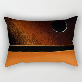 March New Moon Rectangular Pillow