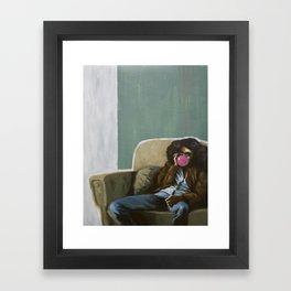 U used 2 call me Framed Art Print