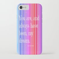 notebook iPhone & iPod Cases featuring Nicholas Sparks Notebook quote by Laura Santeler
