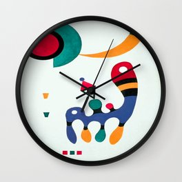 Wassily Kandinsky Composition Wall Clock