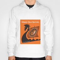 nordic Hoodies featuring Nordic Film Festival by Kimberly Filko