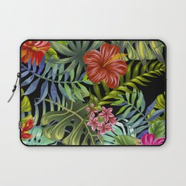 Tropical Leaf Pattern 1 Laptop Sleeve