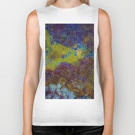 Acid Abstract Pattern (Color) Biker Tank