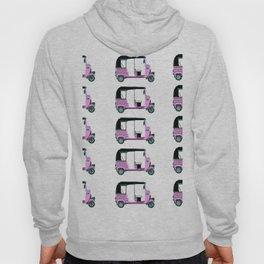 Pink tuktuk, fun design Hoody