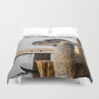 lama Duvet Covers featuring Lama by miloezger