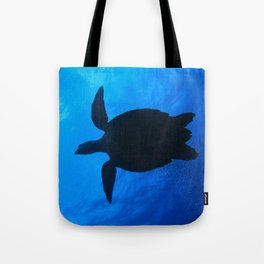 Hawks Bill Sea Turtle Tote Bag