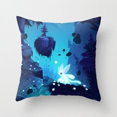 Ori - Lost without Light Throw Pillow