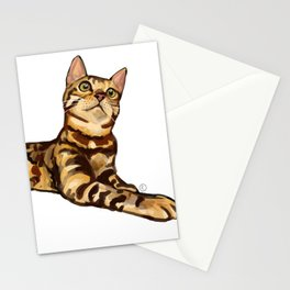 Bengal Cat Stationery Cards