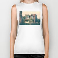house Biker Tanks featuring HOUSE by Logram