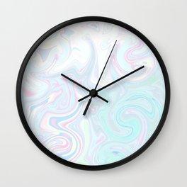 Pale Milkshake Wall Clock