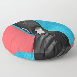 small upside down triangle Floor Pillow