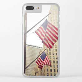 USA Clear iPhone Case