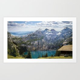 Perfect landscape Art Print