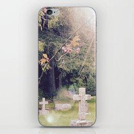 Cemetery, St. John's Anglican Church, Cobble Hill B.C. iPhone Skin