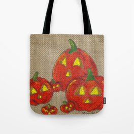 Lantern Patch Tote Bag