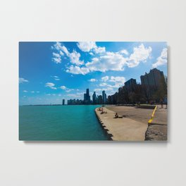 view of chicago Metal Print