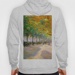 Hyde Park London 1890 By Camille Pissarro | Reproduction | Impressionism Painter Hoody