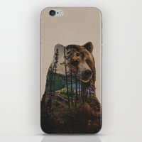 lake iPhone & iPod Skins featuring Bear Lake by Davies Babies
