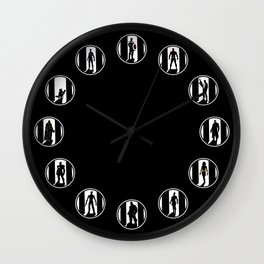 Superheroes Wall Clock