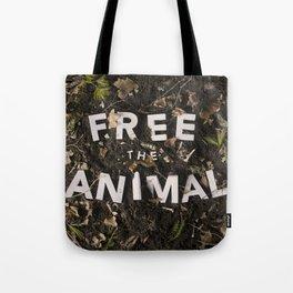 Free the Animal Tote Bag
