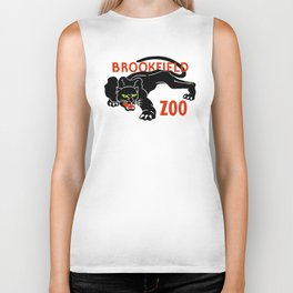 Black panther Brookfield Zoo ad Biker Tank