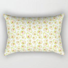 Avocado Slices Rectangular Pillow