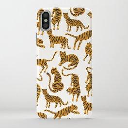 Tiger Collection – Orange Palette iPhone Case