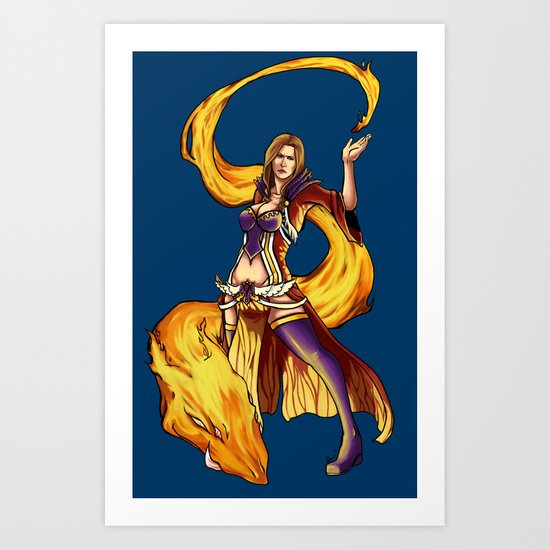 Royal Mage Art Print