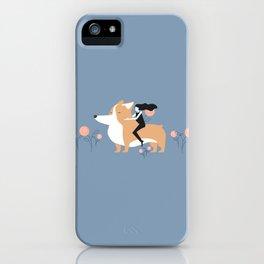 corgi ride iPhone Case