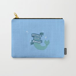 Dont mess up with a mermaid T-Shirt Dvafe Carry-All Pouch