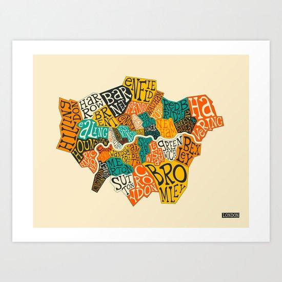 LONDON BOROUGHS by jazzberryblue