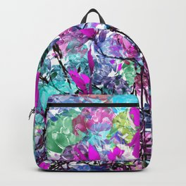 Floral abstract (81) Backpack