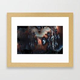 Last Sunrise Framed Art Print
