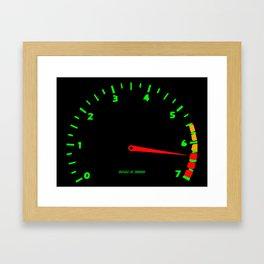 RPM Framed Art Print