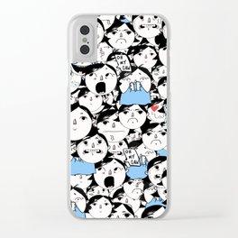 Bobbies Unite Clear iPhone Case