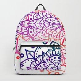 INTENSE SUNSET MANDALA Backpack