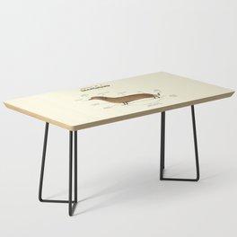 Anatomy of a Dachshund Coffee Table